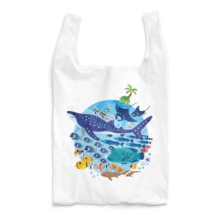 暖かい海の魚たち Reusable Bag