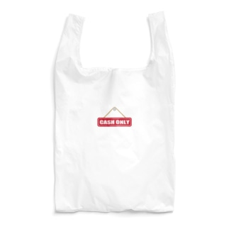 CASH ONLY キャッシュオンリー Reusable Bag
