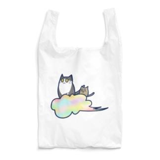 五色の雲と二匹の猫 Reusable Bag