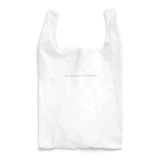 【ダークグレー・サインなし】BE ALWAYS BLOOMING Reusable Bag