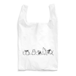 パンダマウスたち ライン Reusable Bag