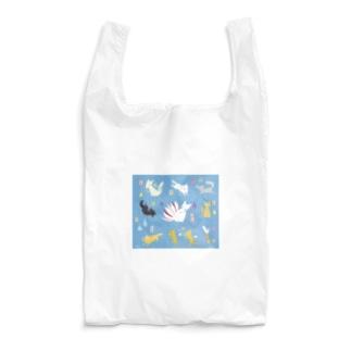 おばけエコバッグ<狐妖怪図鑑> Reusable Bag