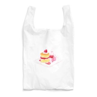 にゃんこ&食《ショートケーキの日》 Reusable Bag