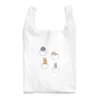 ポケットにうさぎさん Reusable Bag