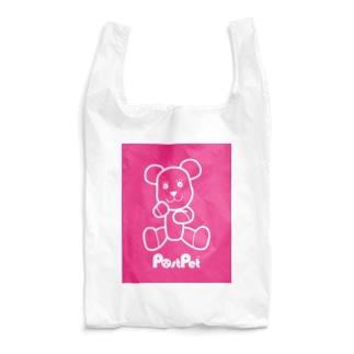 おすわりモモ_V3 Reusable Bag