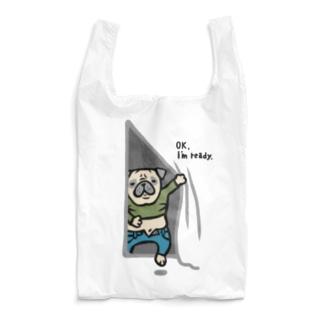 気にしないパグさん☆ Reusable Bag