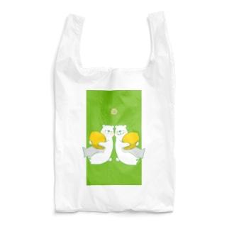 レモンとしろくまさん Reusable Bag