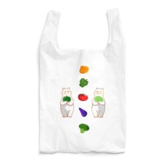 お野菜としろくまさん Reusable Bag