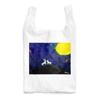 鹿と星空 Reusable Bag