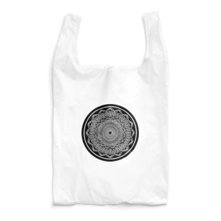 シャレコーベミュージアムのロゴマンダラ Reusable Bag