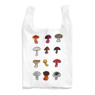 きのこドッサリ Reusable Bag