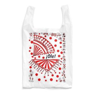 フラメンコ ベラーノ 赤水玉 アバニコとシージョ Reusable Bag