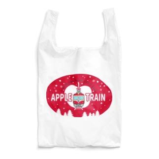 りんご電車(赤) Reusable Bag