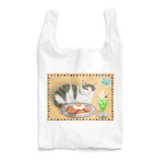 カフェネコ・昭和レトロ〈ナポリタンとクリームソーダ〉 Reusable Bag