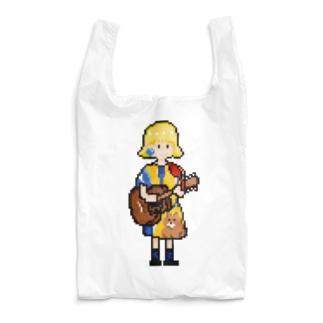 ギター少女 Reusable Bag