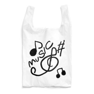 ミュージック Reusable Bag
