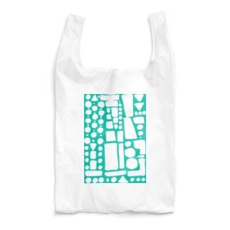 翡翠ぽたぽたぽふぽふ Reusable Bag