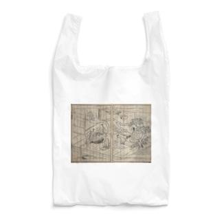 夢応の鯉魚L Reusable Bag