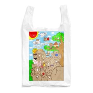 ウゲロくま大集合 Reusable Bag