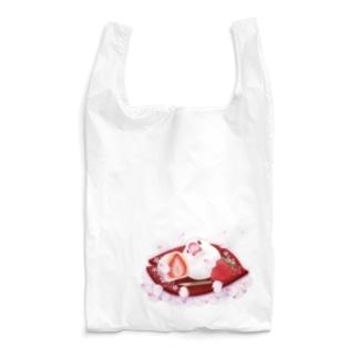 苺大福文鳥 Reusable Bag