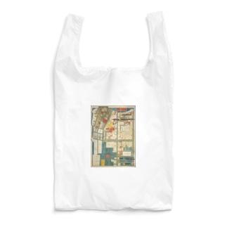 本所深川絵図 Reusable Bag