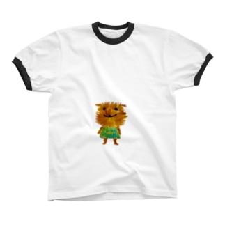 ボサボサ Ringer T-shirts