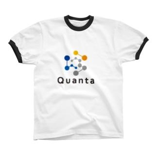 仮想通貨 Quanta Ringer T-shirts
