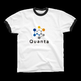 仮想通貨グッズ(Tシャツ)専門店の仮想通貨 QuantaリンガーTシャツ