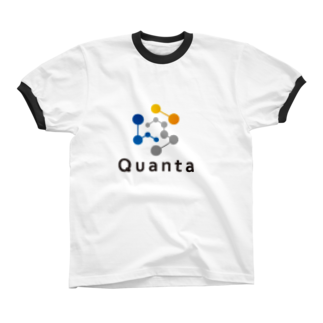 仮想通貨グッズ(Tシャツ)専門店の仮想通貨 Quanta リンガーTシャツ