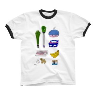 ぼくがスーパーで買ったもの Ringer T-shirts