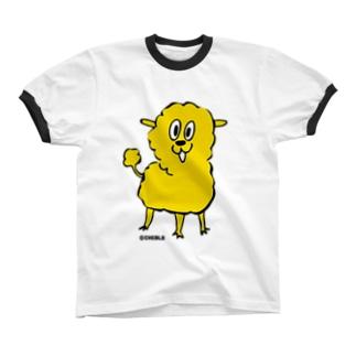 きいろいの リンガーTシャツ