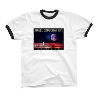 宇宙探検記シリーズ #2 リンガーTシャツ