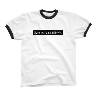 π= リンガーTシャツ