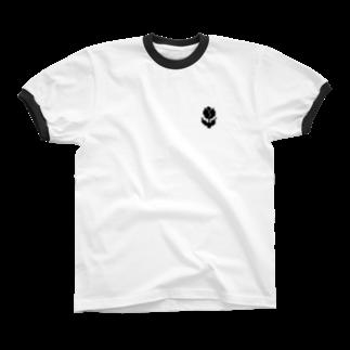 nyanderful timeのチューリップ リンガーTシャツ