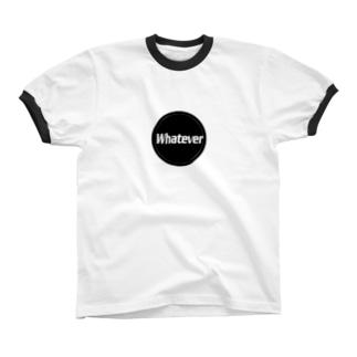 Whatever リンガーTシャツ