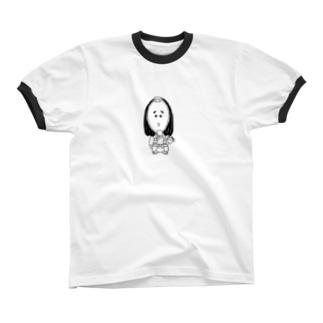 よわっきー リンガーTシャツ