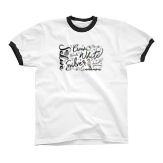 bunchography リンガーTシャツ