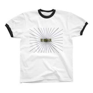 sun  リンガーTシャツ
