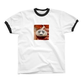 にんにく リンガーTシャツ