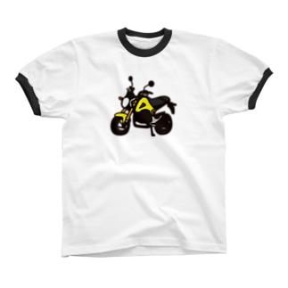 GROM YELLOW リンガーTシャツ