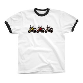 GROM TOURING リンガーTシャツ