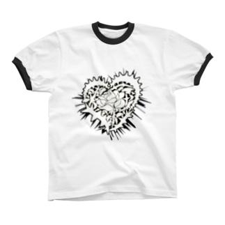 Rose_of_Passion リンガーTシャツ