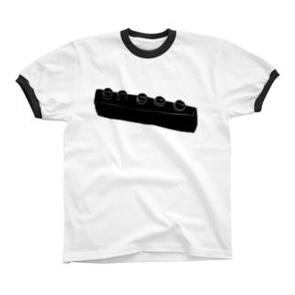 謎のレロブロック リンガーTシャツ