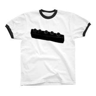 明季 aki_ishibashiの謎のレロブロック リンガーTシャツ