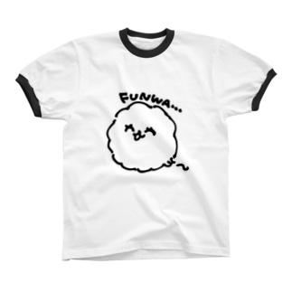 毛玉(プレーン) リンガーTシャツ