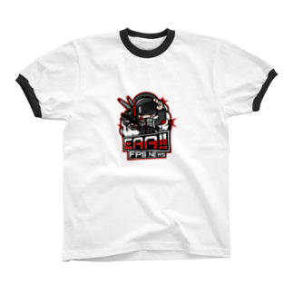 EAA!! Official Store - EAA!! 公式ストアの新ロゴ「EAA(いぇあ)軍曹(仮)」 v2 Ringer T-shirts