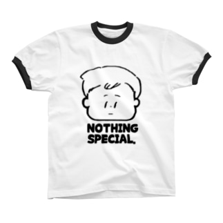 Nothing special. リンガーTシャツ