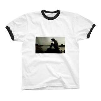 孤高の河童 リンガーTシャツ