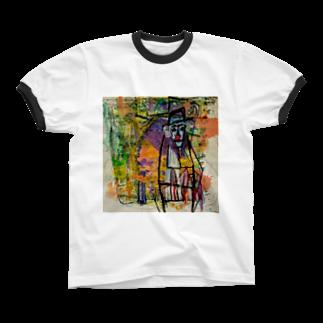 KenSakamotoのCircusMaster Ringer T-shirts