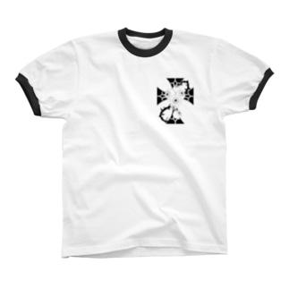 アイボールクロス リンガーTシャツ